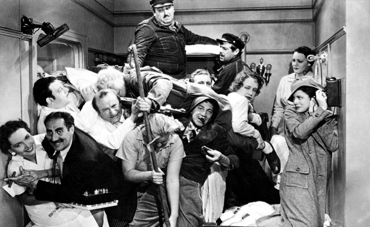 """Marx Brothers """"Night at the Opera"""" Movie Poster"""