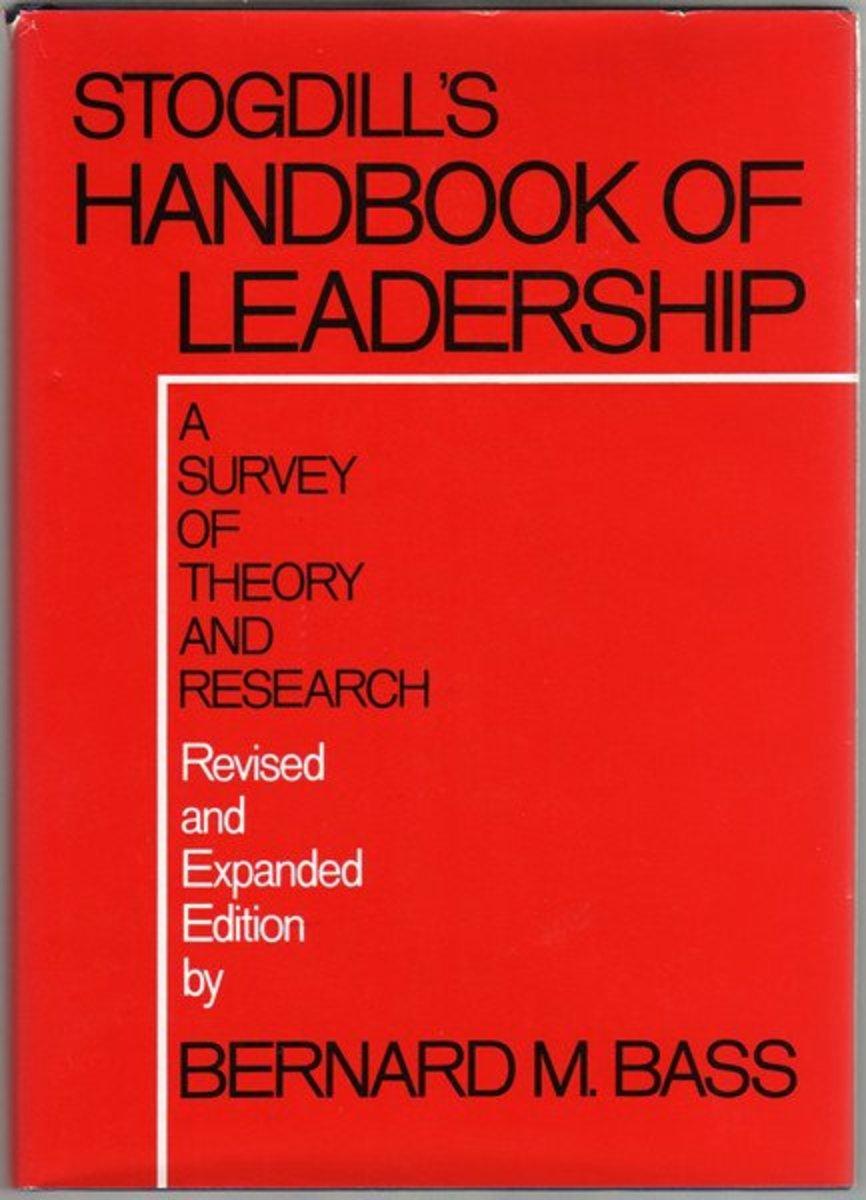 Stogdill's Handbook of Leadership