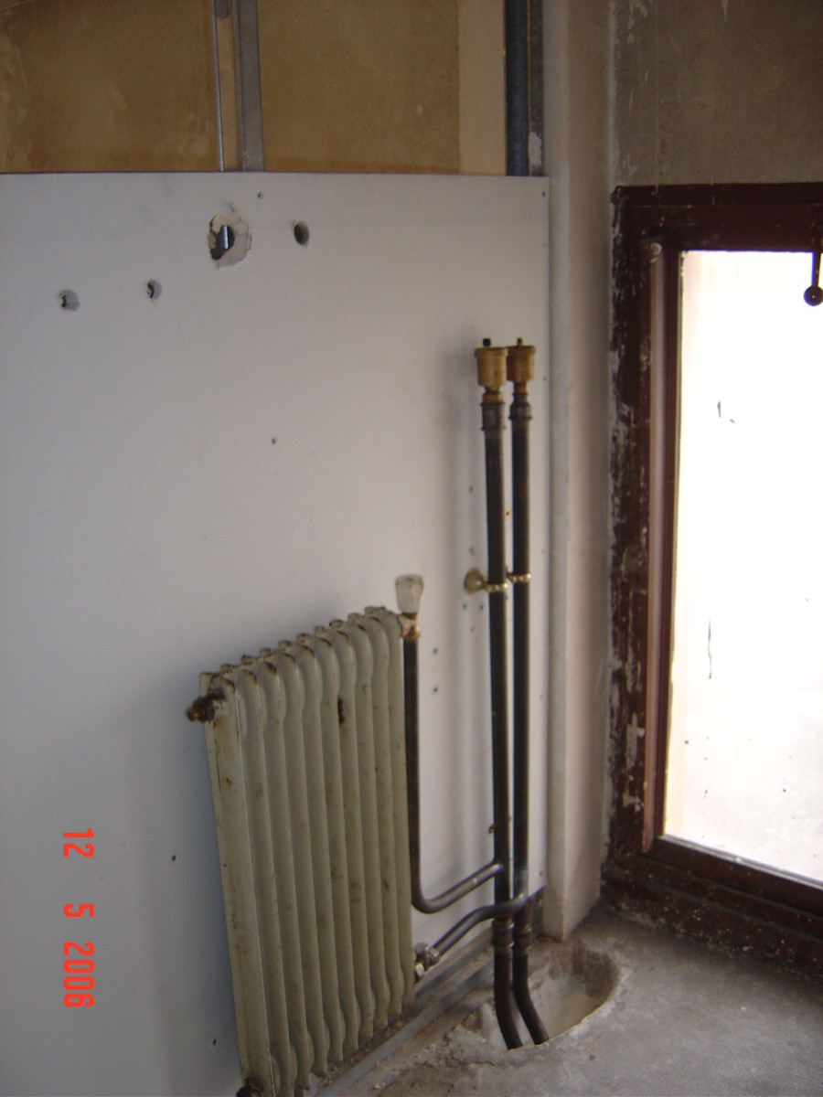 My 'upstairs' radiator