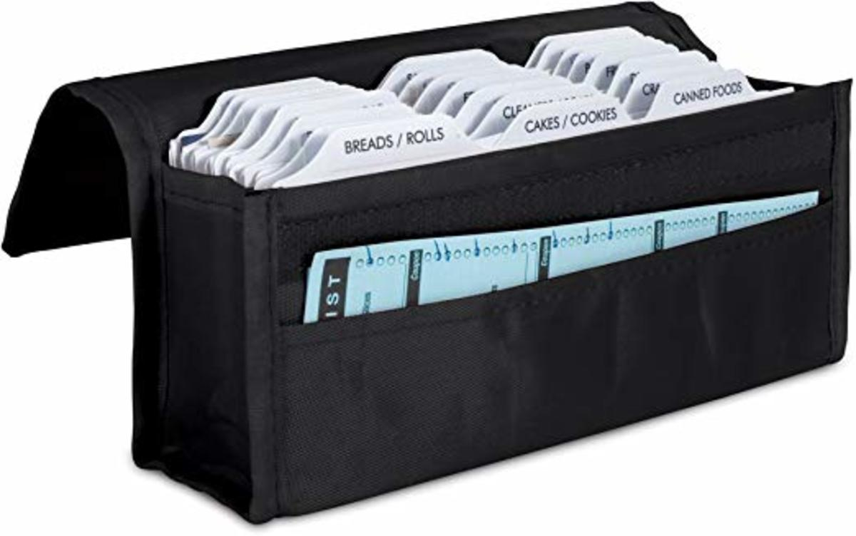 Effective organization with this expandable coupon organizer.