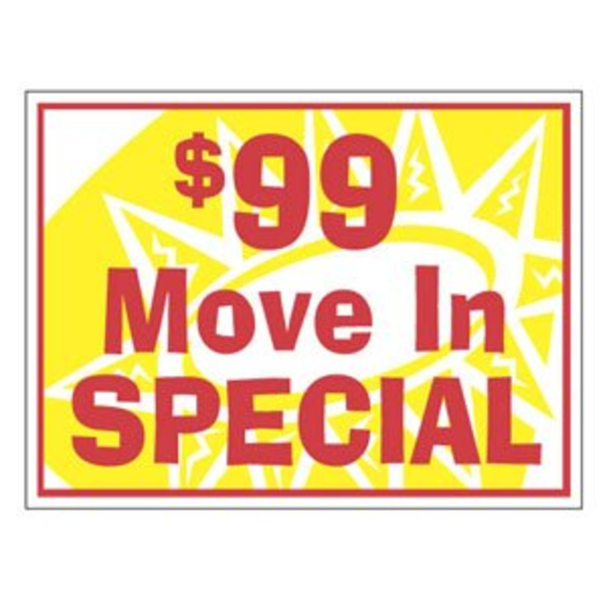 Find a Move In Special before the Eviction hits your credit report.