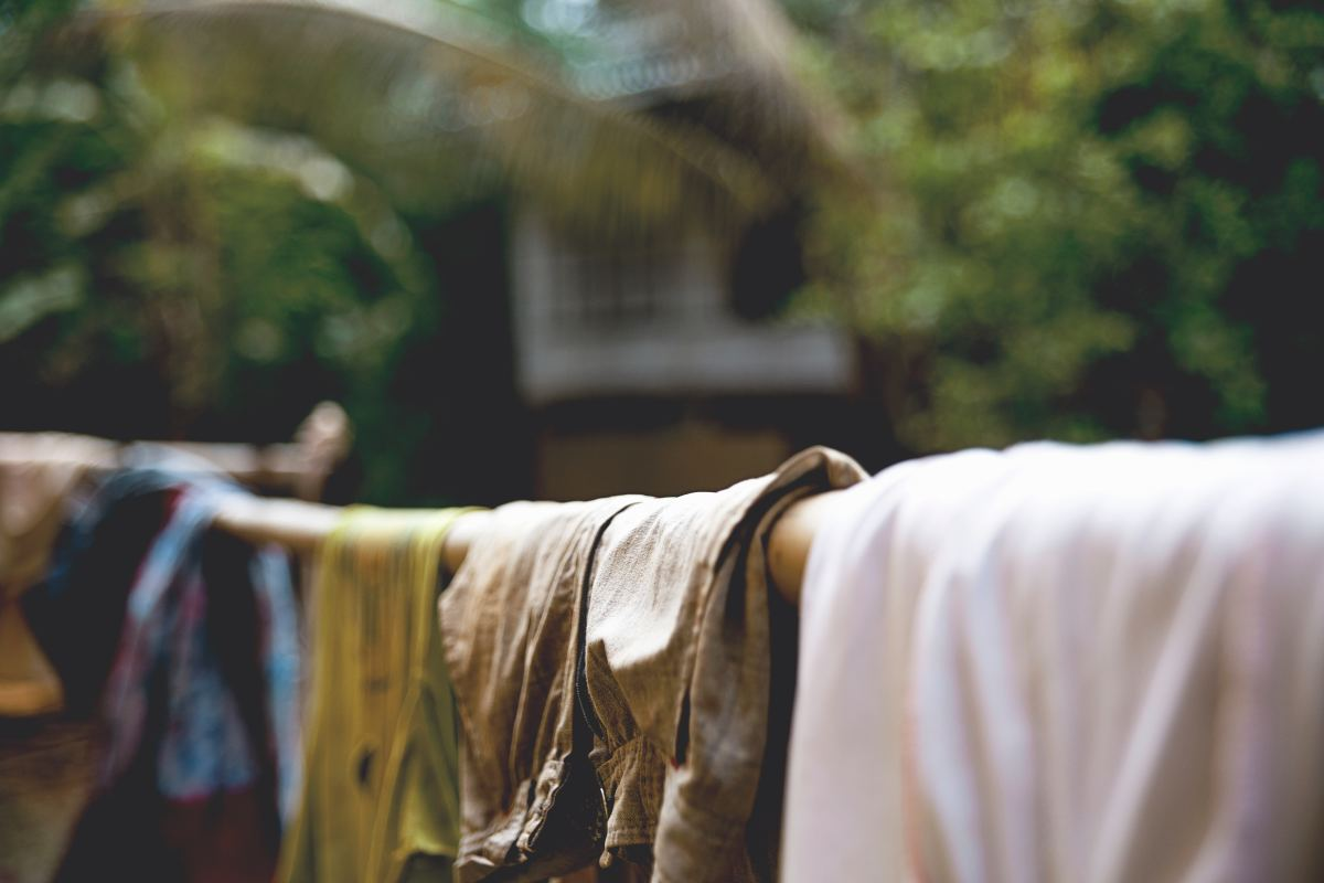 Hand-washing, hand-mending, and using clothes gently are all great ways to make clothes last longer.