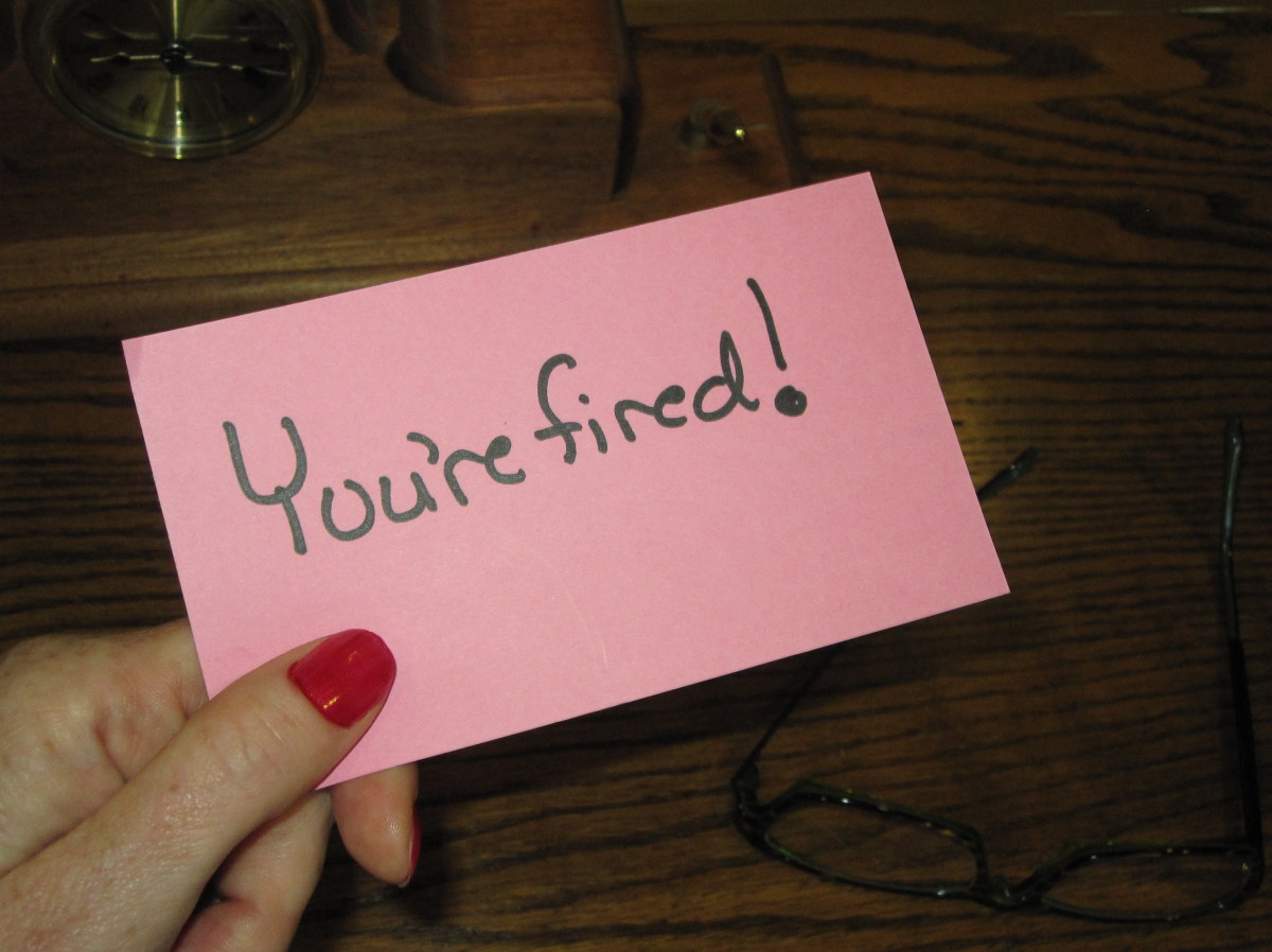 Five Ways to Get Fired
