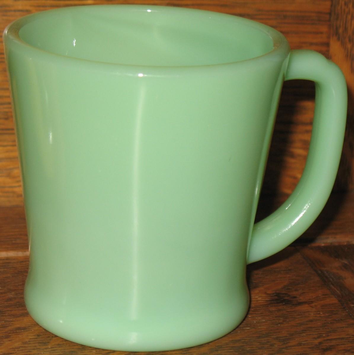 Oven Fire-King Ware Jadeite Coffee Mug