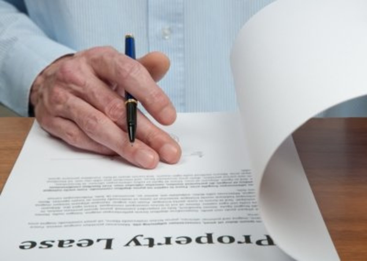 Being a rent guarantor involves signing a Guarantor Agreement.