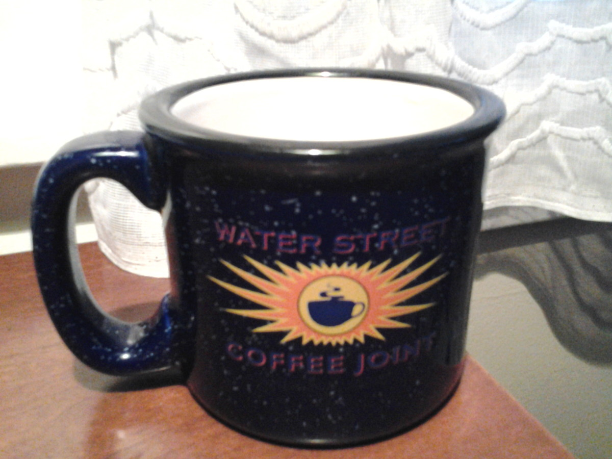 cup from Water Street Coffee Joint in Kalamazoo