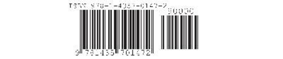 ISBN bar code is automatically placed on the rear cover.