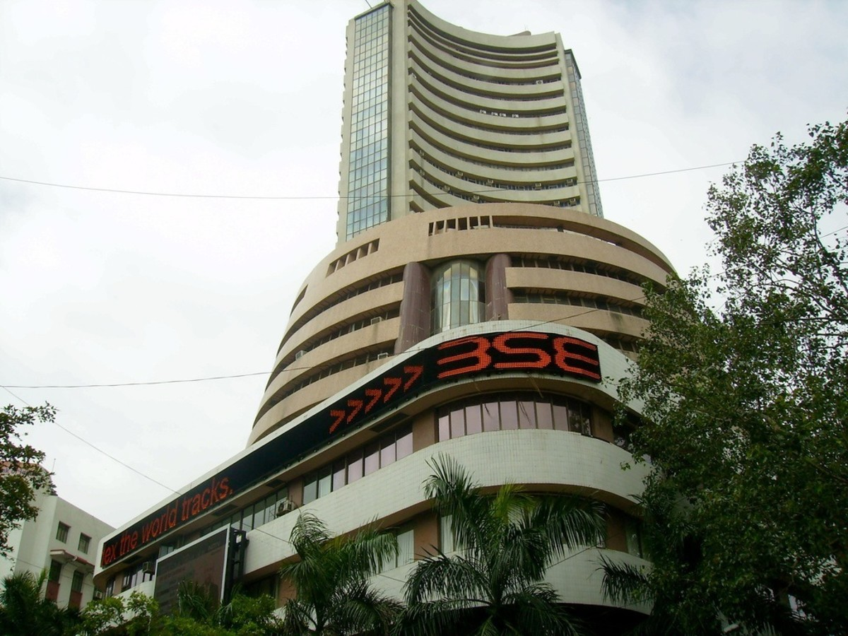 Bombay Stock Exchange in Mumbai