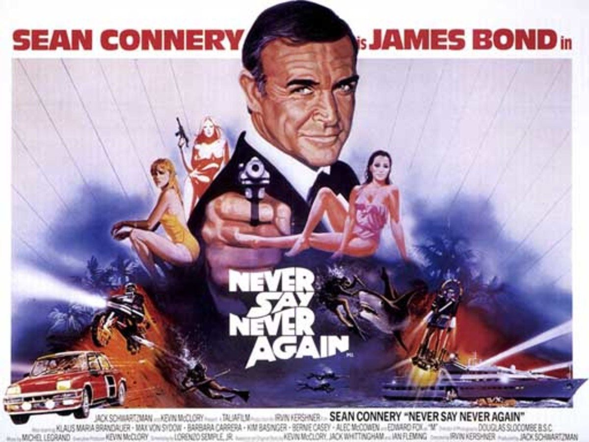"Poster for ""Never Say Never Again"""