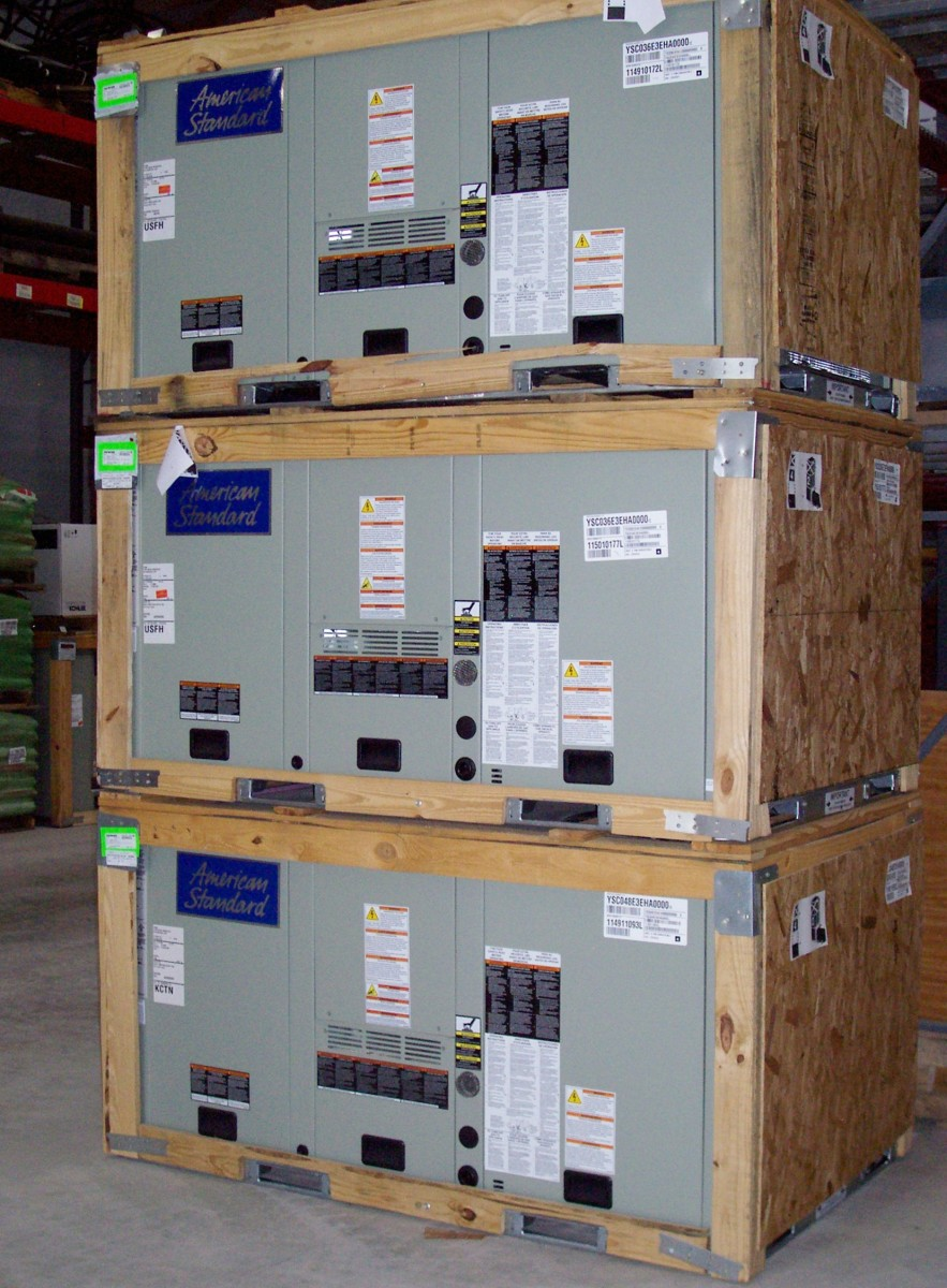 Commercial HVAC Rooftop Units