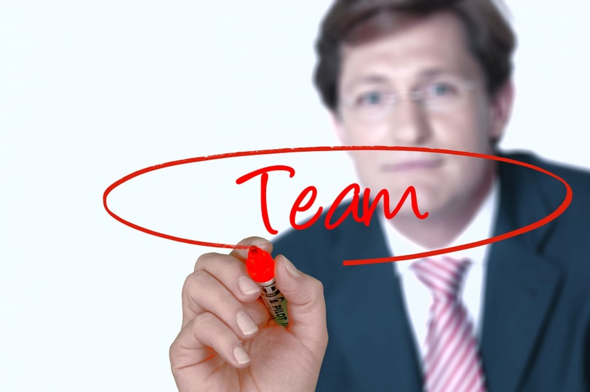 Remember, your managers and supervisors are part of the team.