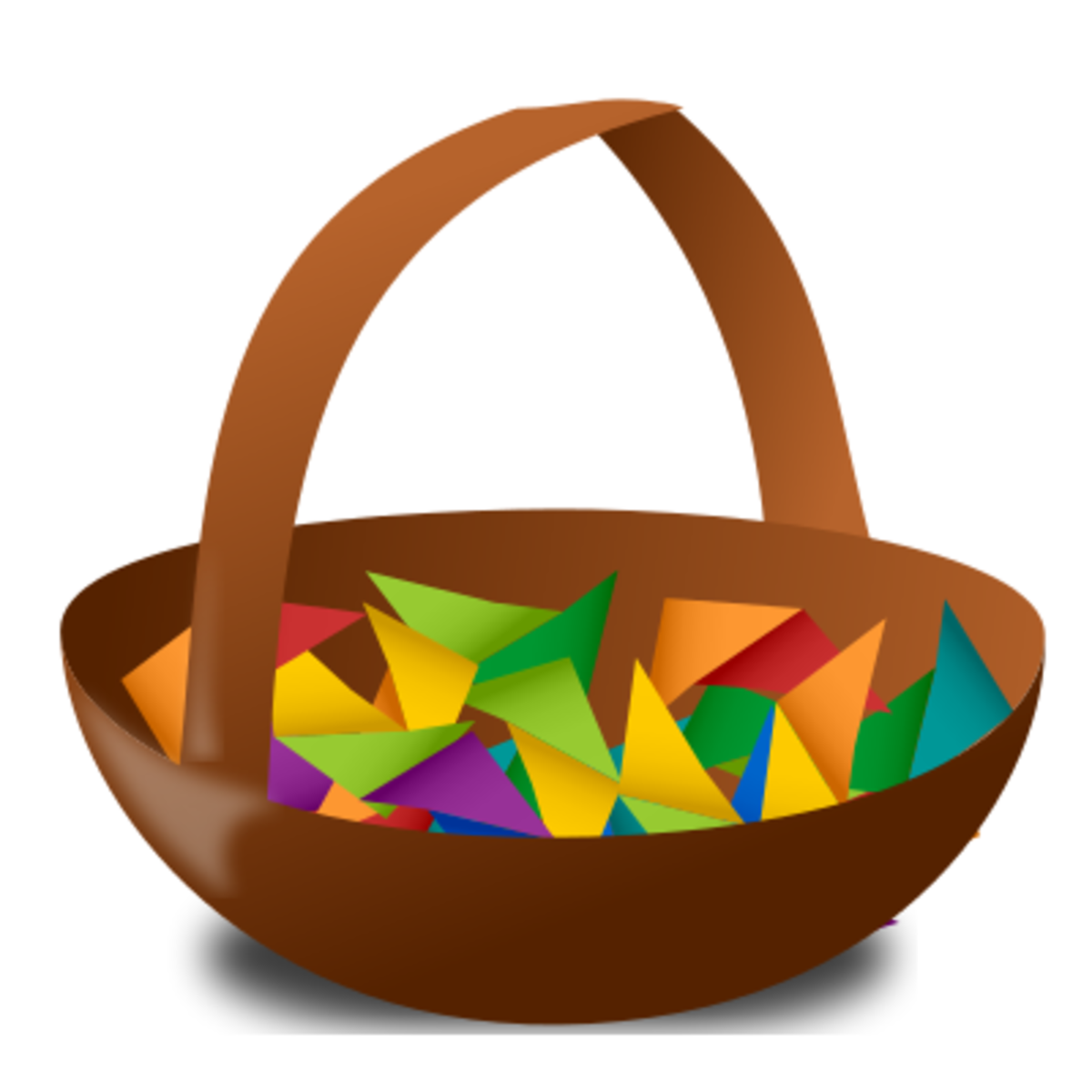 A basket raffle.