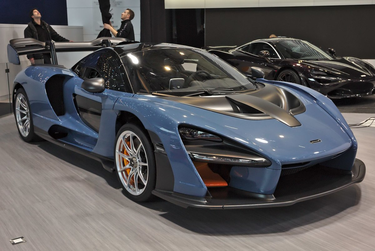 With transparent doors and remarkable horsepower, the McLaren Senna would be a million dollars well-spent.
