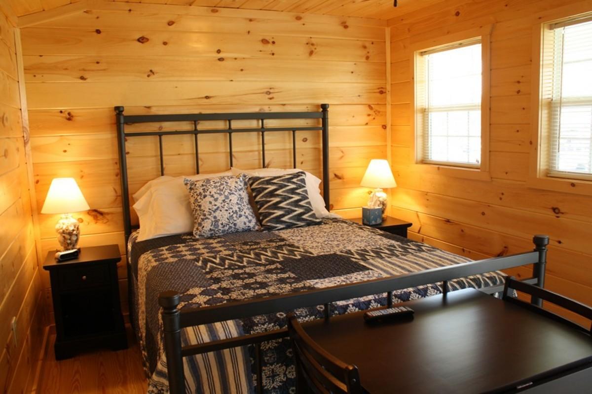 Weekender: bedroom
