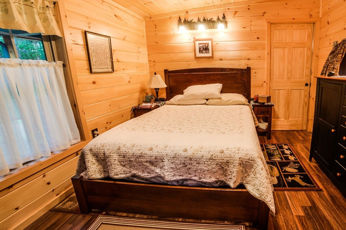 Sportsman: bedroom