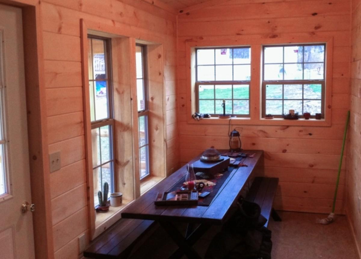 Weekender: dining room