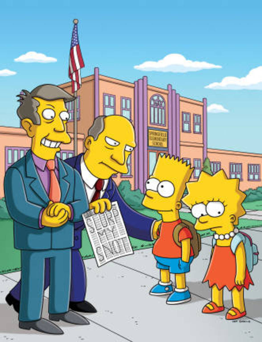 Hopefully you don't know any principals who refer to their superintendents as Superintendent {Fill in Last Name}, even when there are no students around, the way Principal Skinner does on The Simpsons.