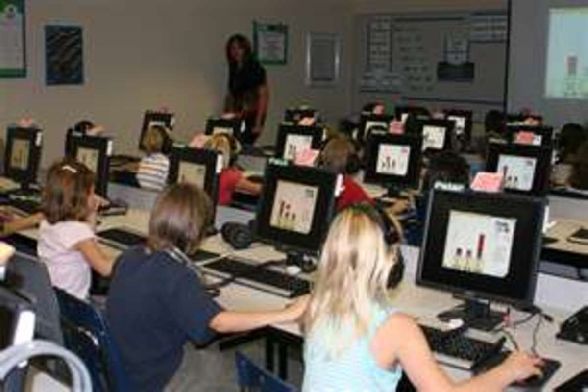 Model effective computer use to students so that they learn to complete research successfully and in a timely manner.