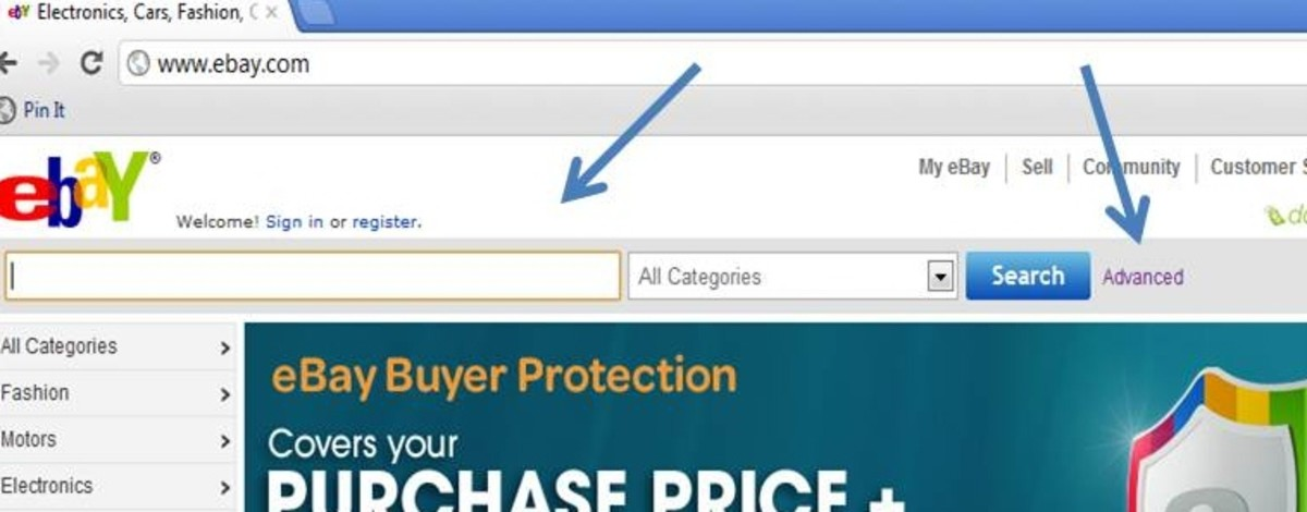 Conduct an advanced search to find out the appropriate price of an item.