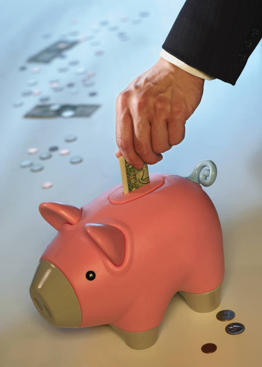 Putting Money Back in the Piggy Bank
