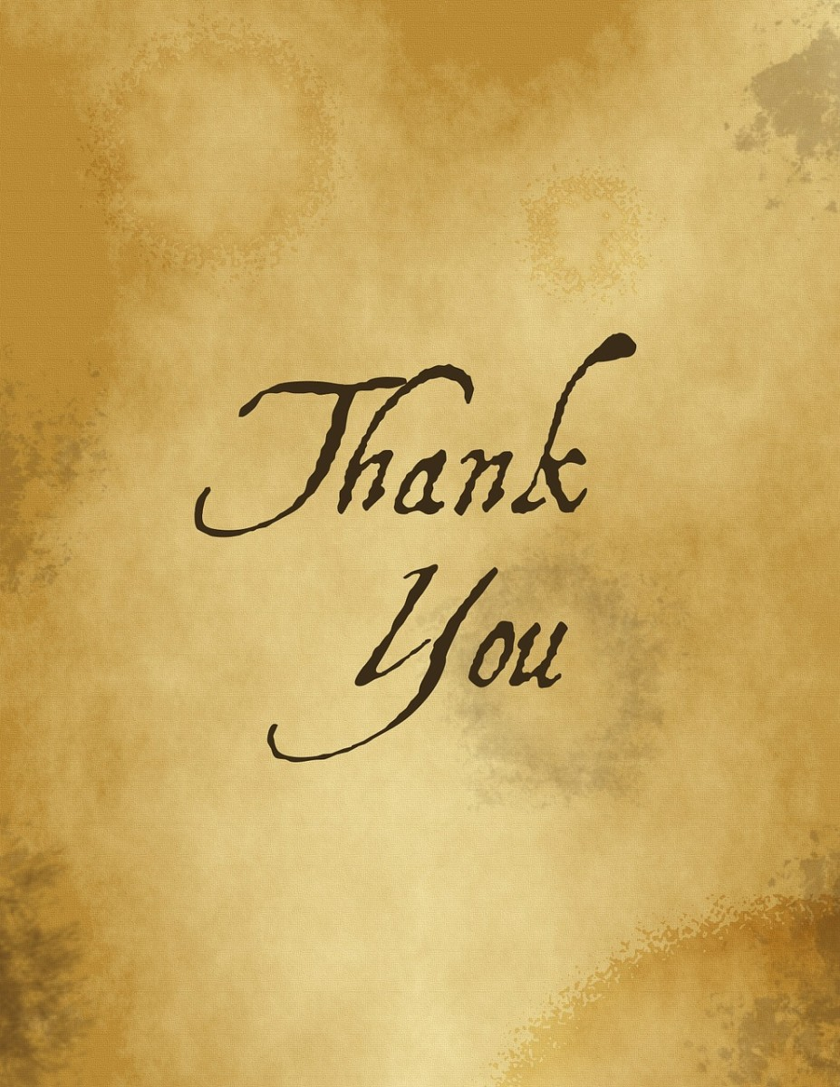 Even if you are quitting on bad terms with your boss, always find at least one reason to say 'Thank you.'