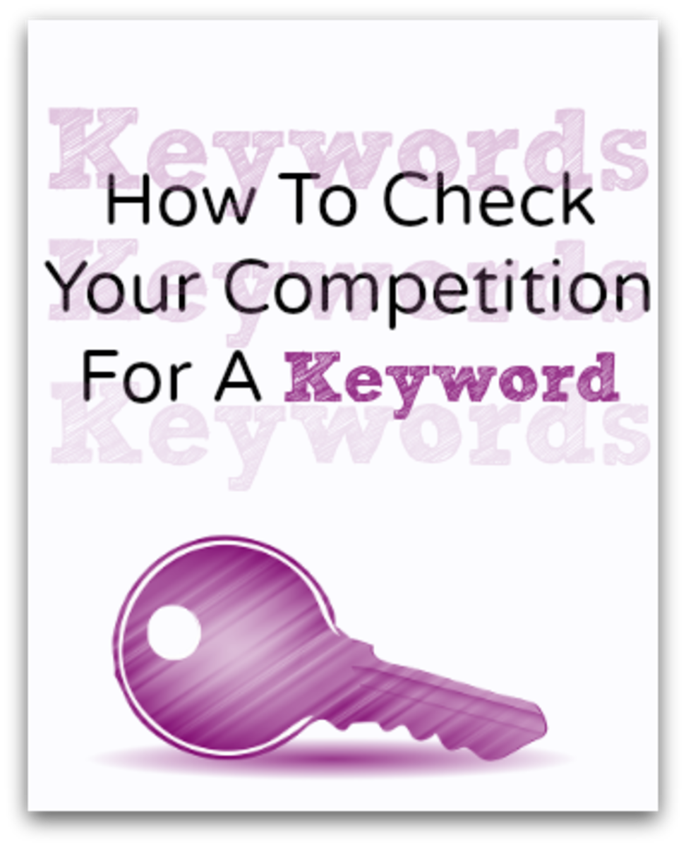 How To Check Competition For a Keyword (And how to find the darn things.)