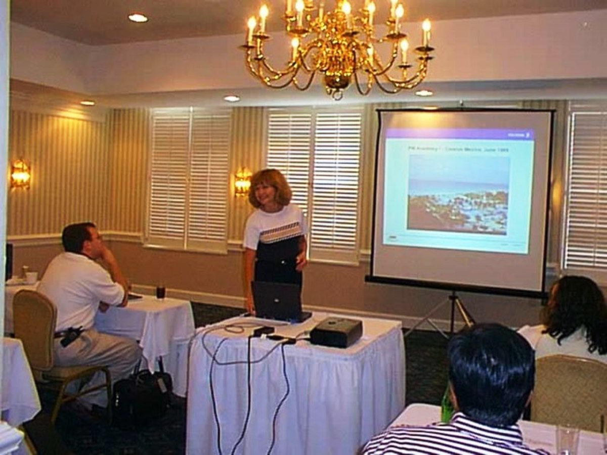 The Monthly Meeting: Working in the corporate world requires presentation skills and more