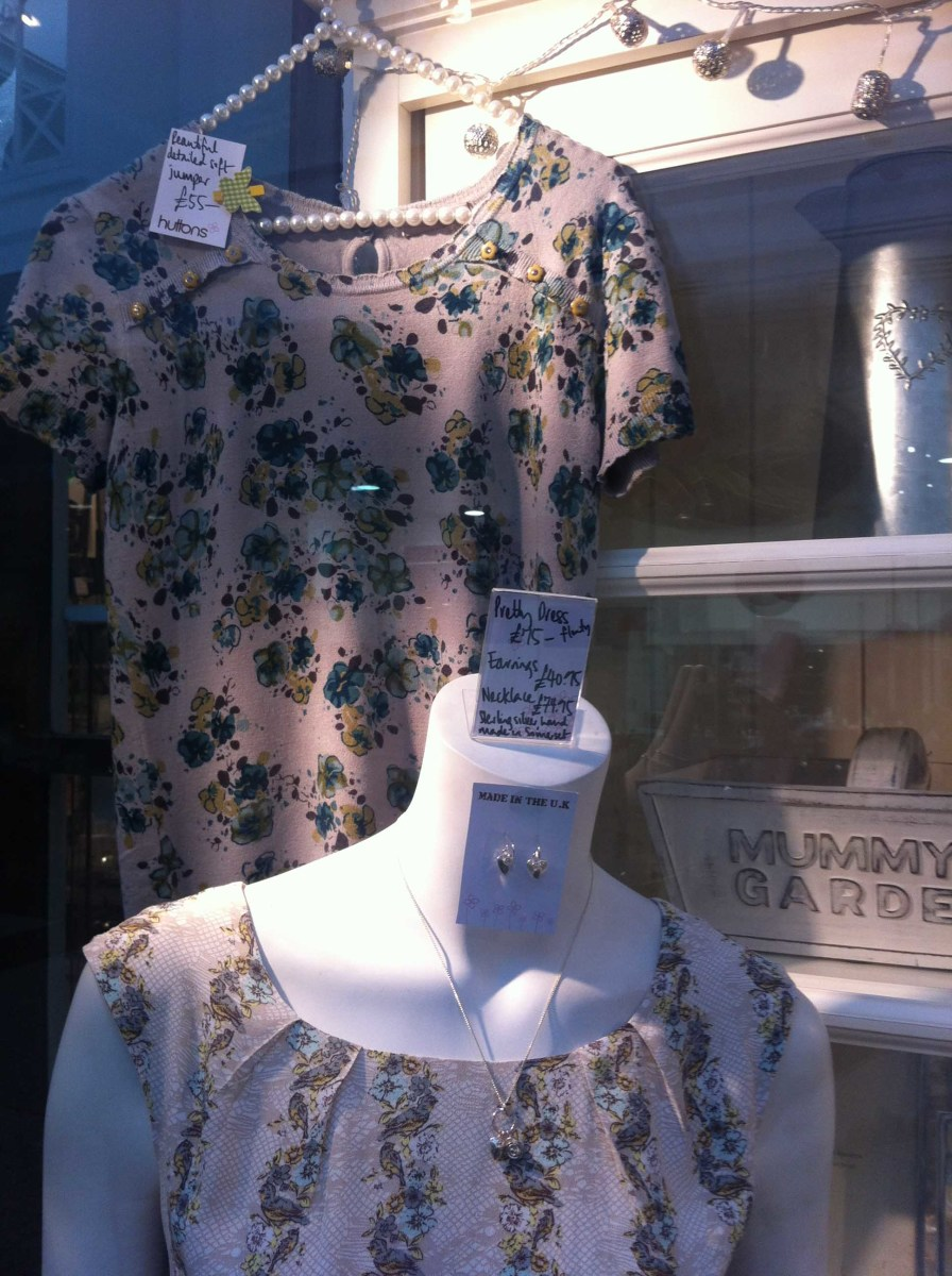 A good looking window display with clear pricing is likely to attract customers and generate sales.