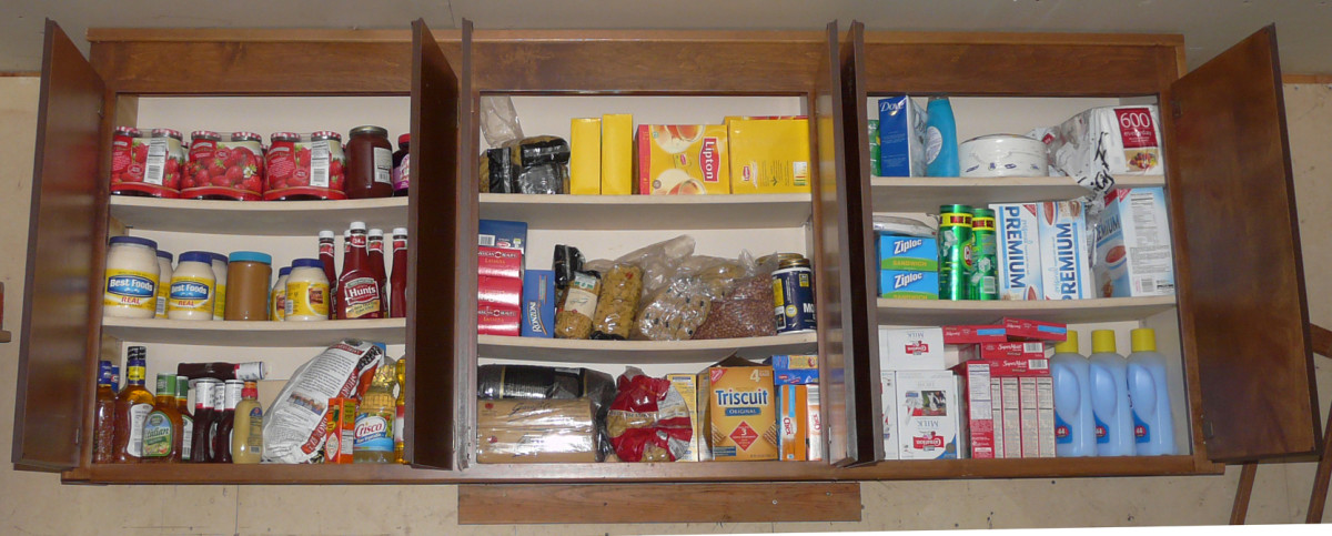 Cleaning supplies and other household goods