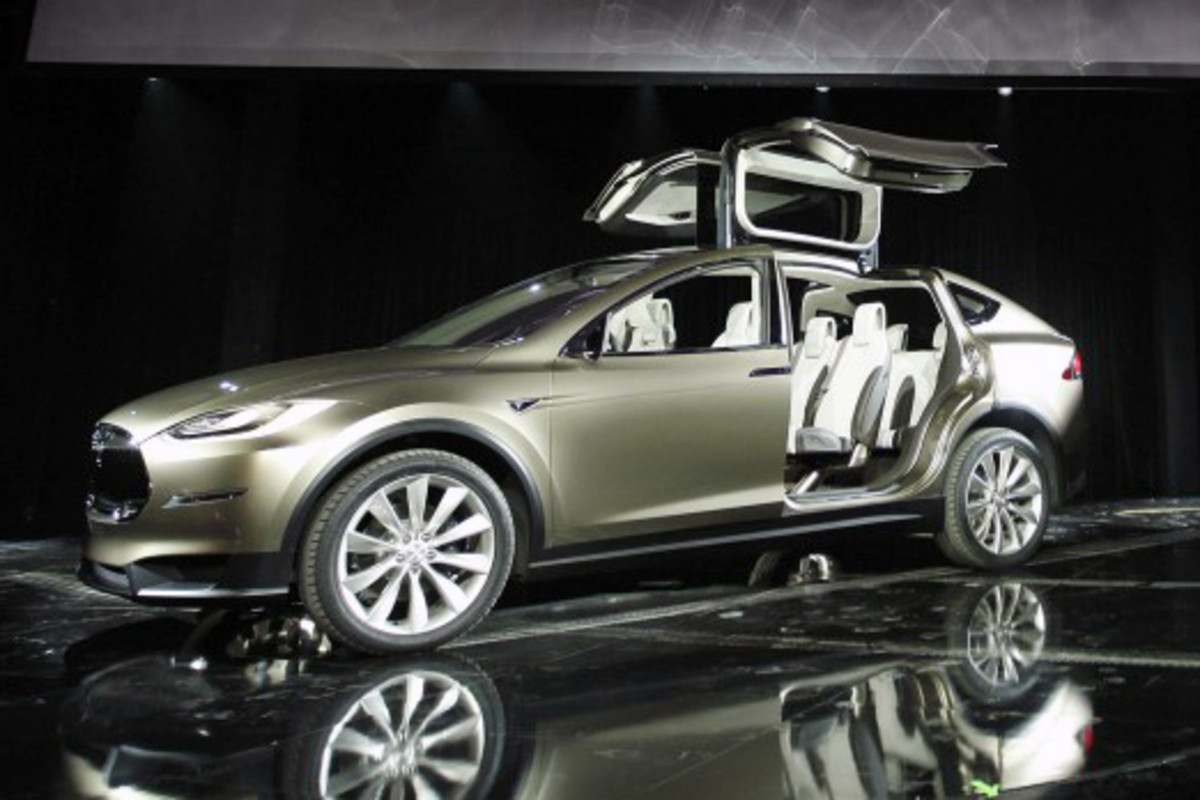 Tesla Model X - Oh yes! Well worth going into debt for . . . isn't it?