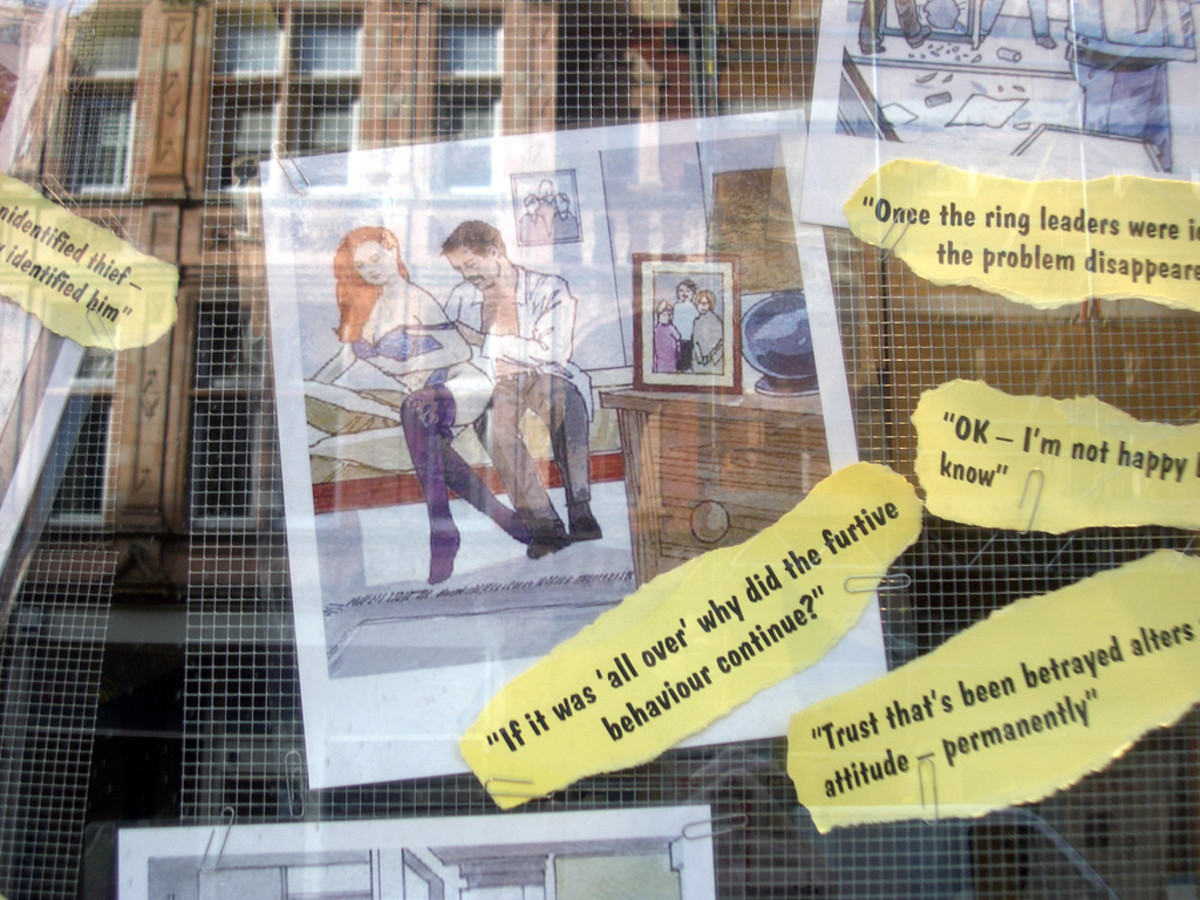 Fun quotes form a theme - as seen in a spy store...