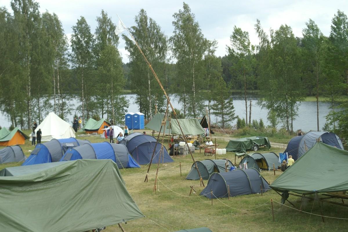Open a Campsite