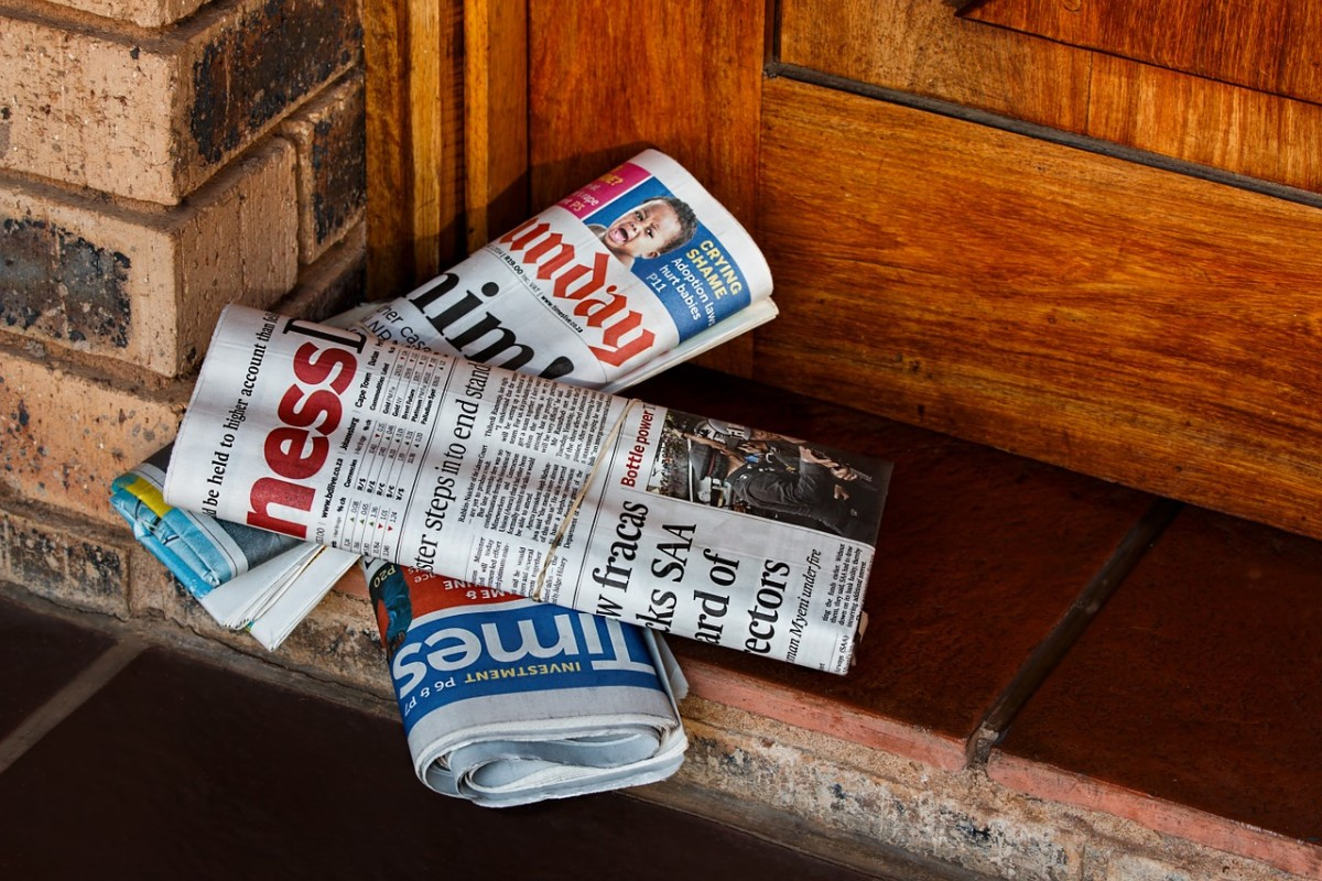 Deliver newspapers.