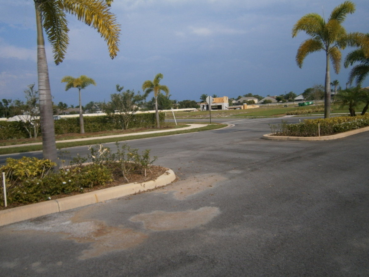 Another housing development that has been deserted.