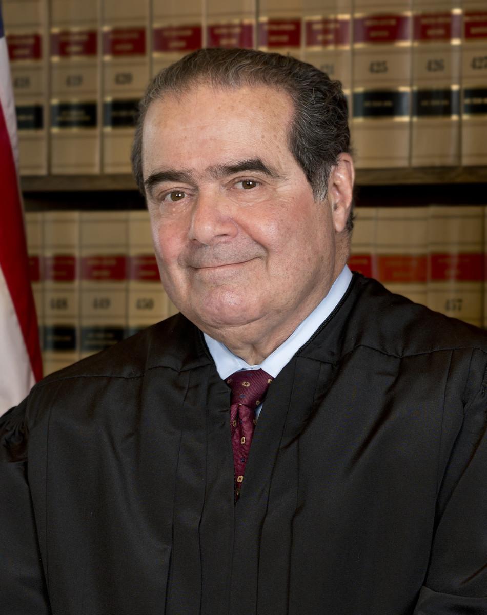 在长凳上,Dance justice Scalia可能是最高法院最高法院的作家和遣员。