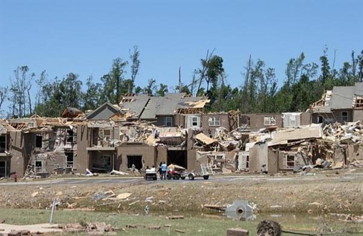 A landlord can not be held accountable for natural disasters