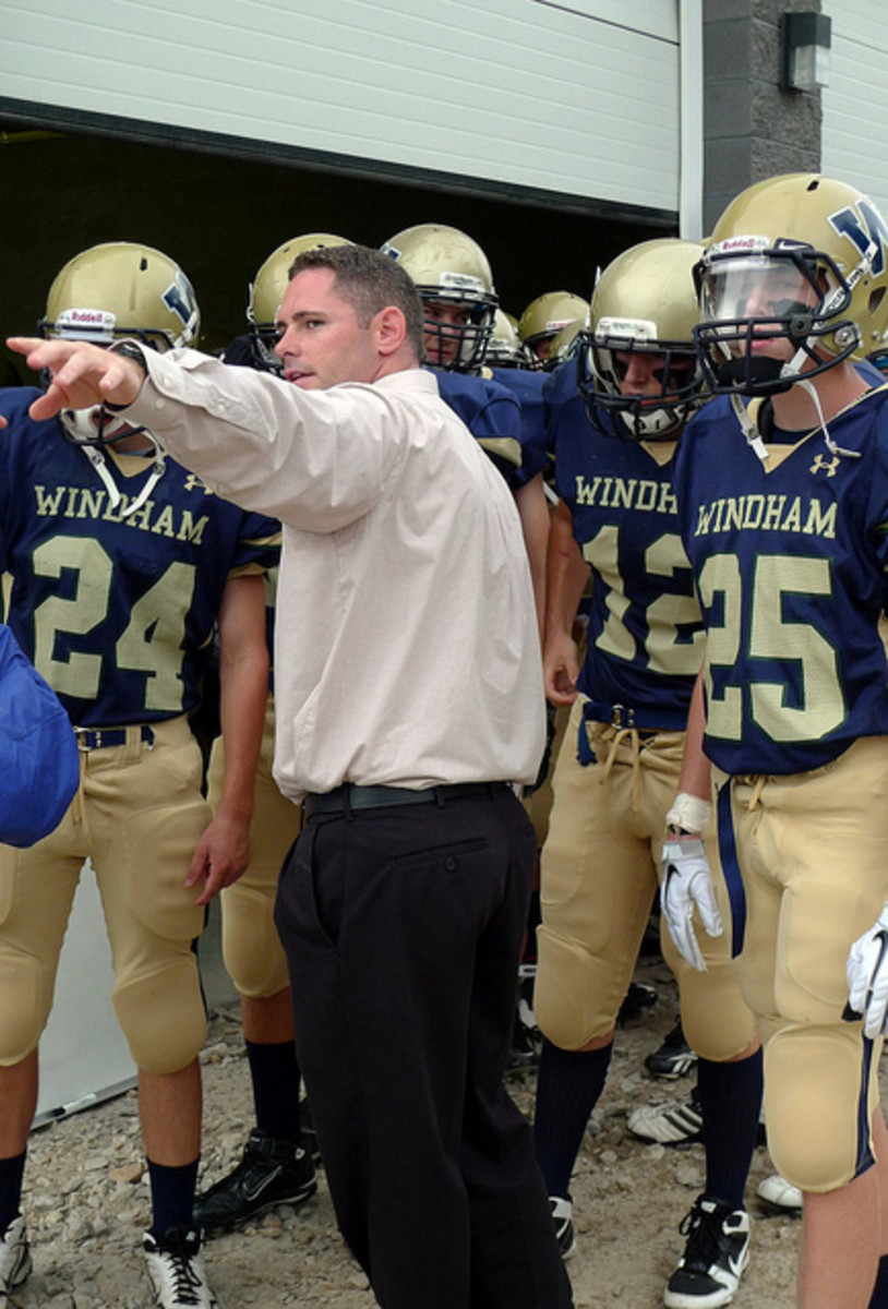 This coach's collaborative leadership style shows up as he points the way - and stays more relaxed.