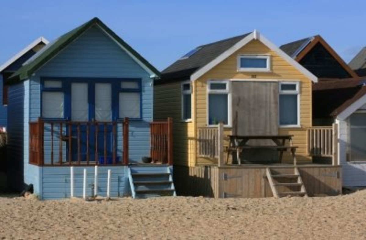 Rent out beach huts