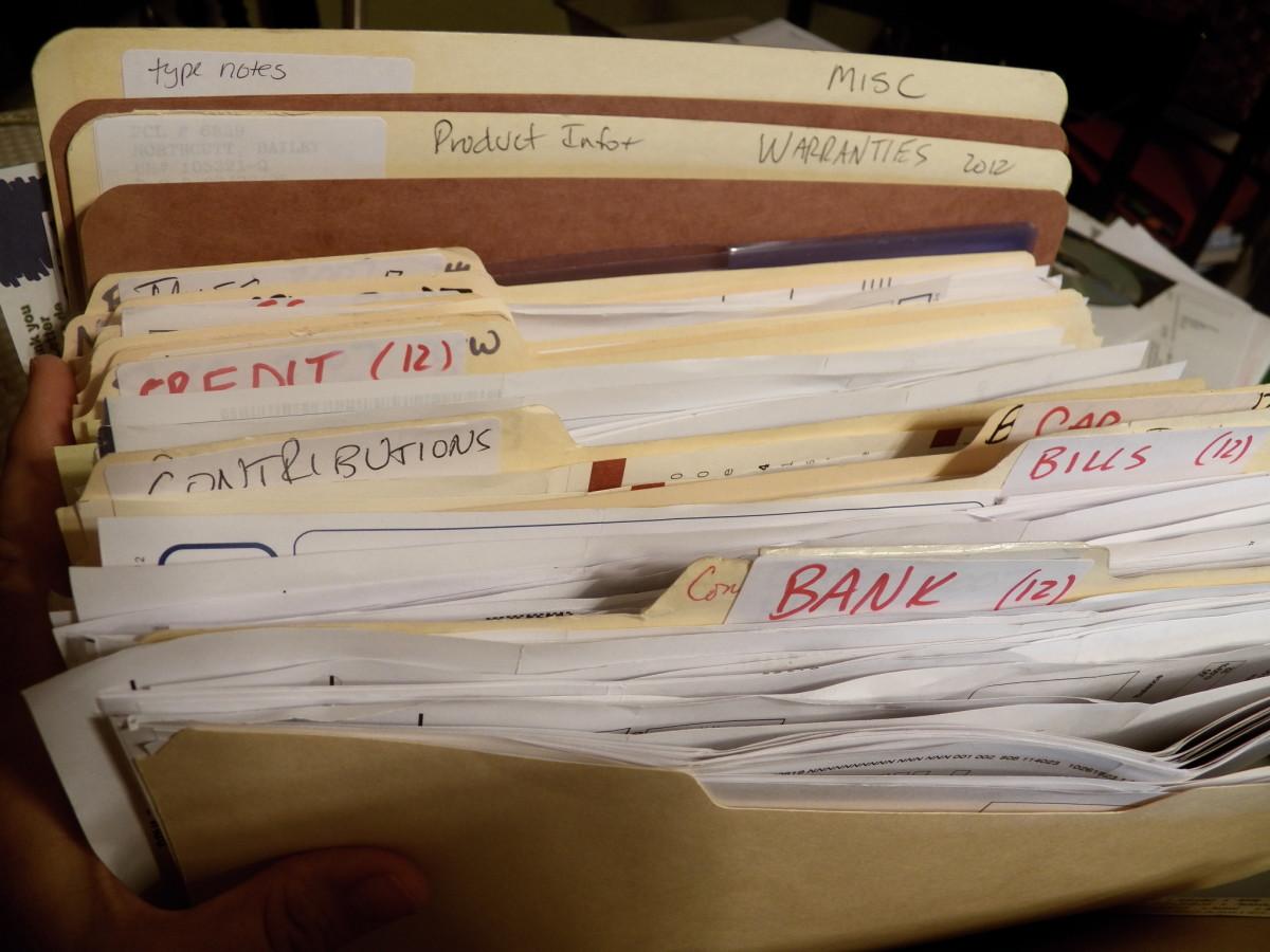 The Best Way to Organize Receipts