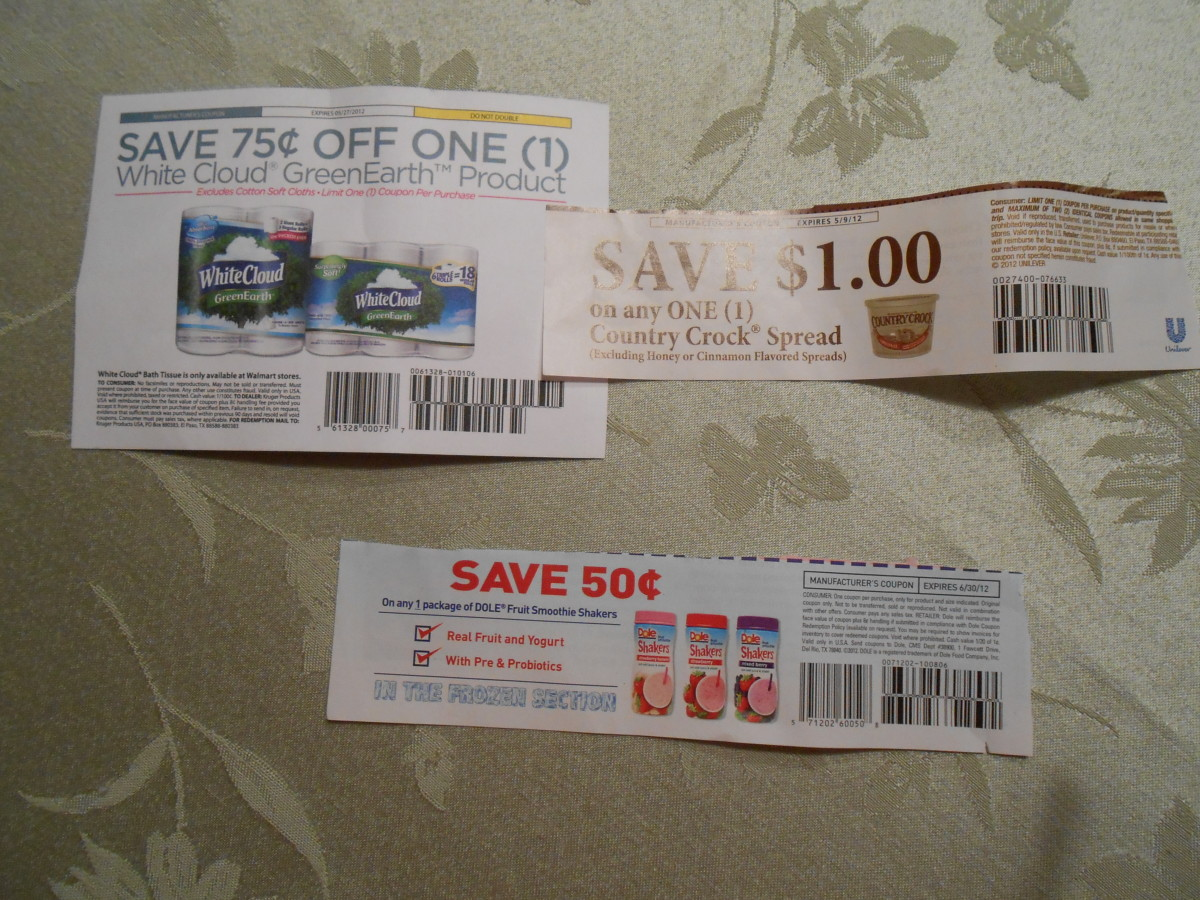 Coupons like these can save consumers lots of money.