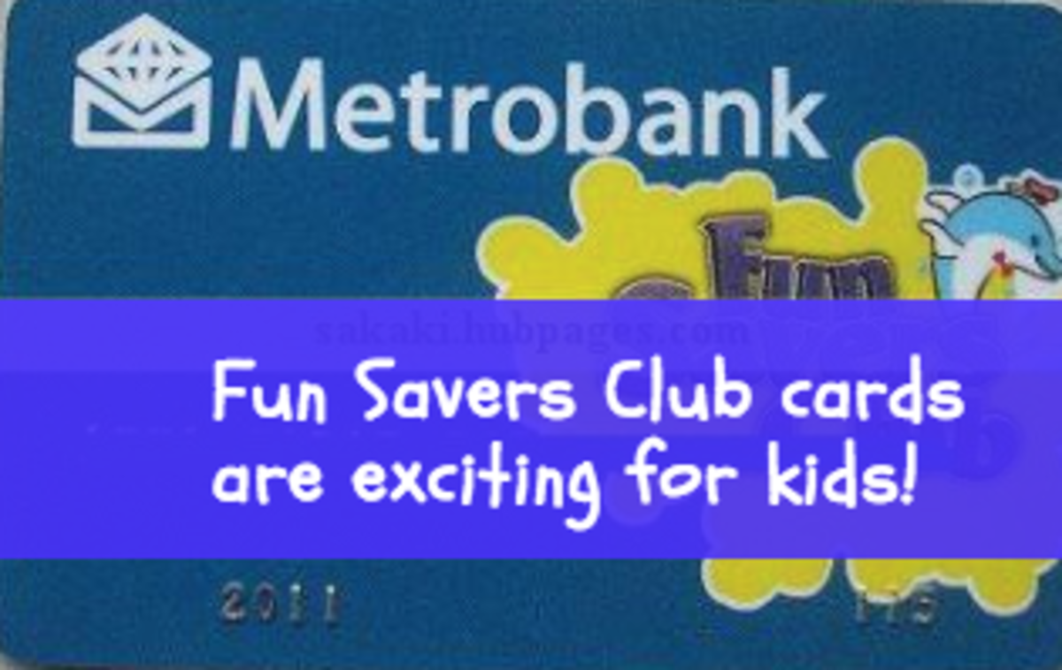 Metrobank Fun Savers Club accounts are a great way to teach children about money and responsibility!
