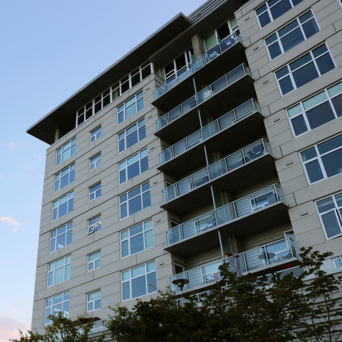 Apartments run by large management companies tend to have stricter rules about credit than private property owners.