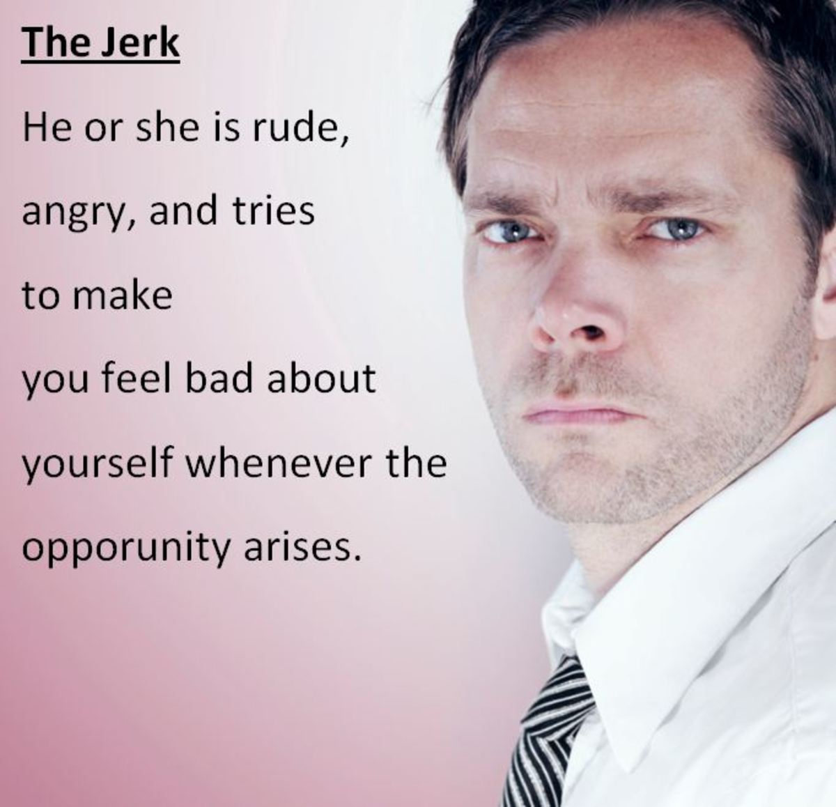 dealing with difficult people disrespectful jerk