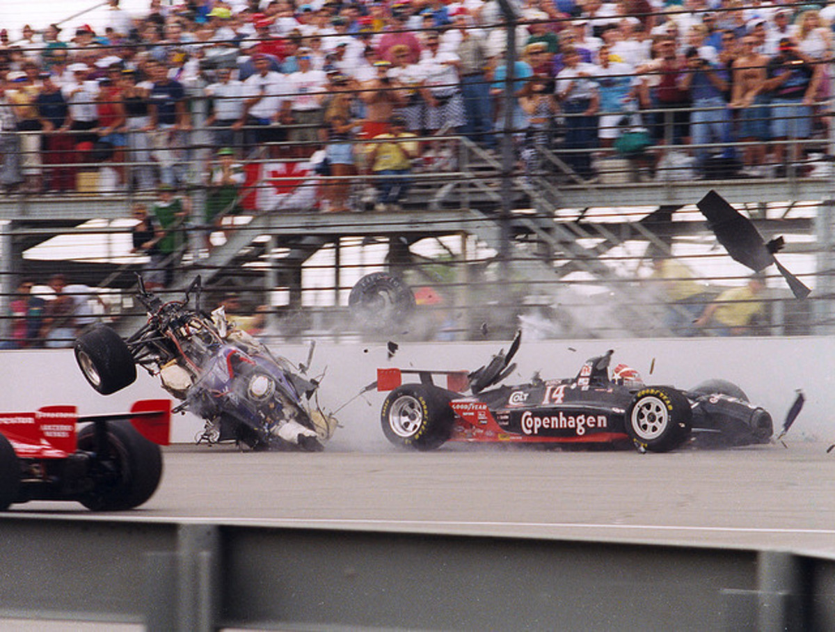 More power and more precision lead to greater success: Until something goes wrong, and we get a bigger mess. Stan Fox Indianapolis 500 Race crash 1995..