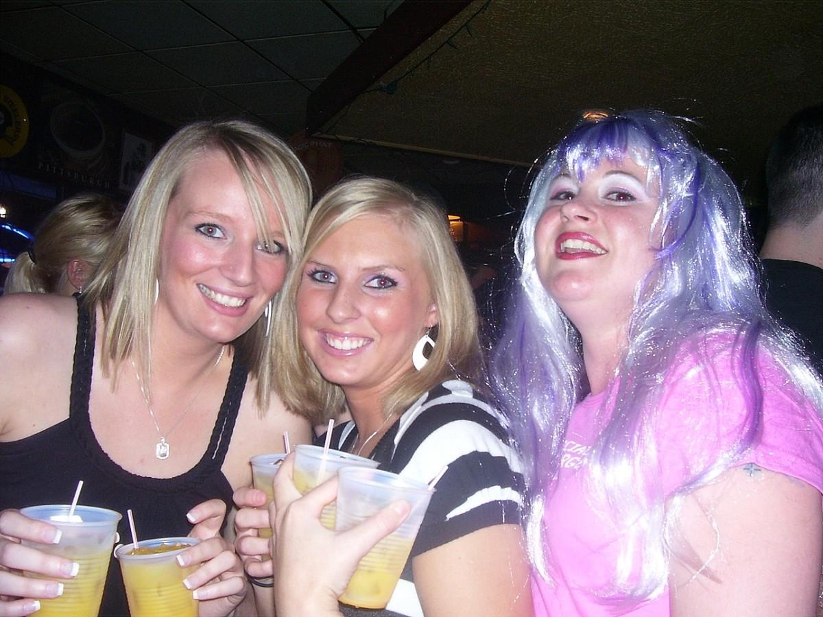 When promoting vodka, wear a purple wig.