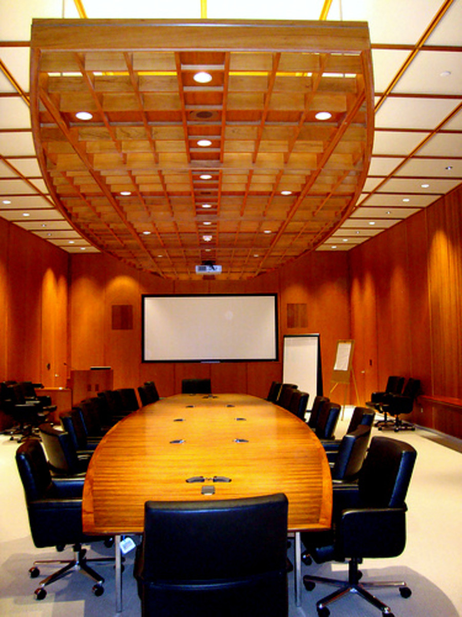 Seating arrangement during meeting and where you sit decide on the outcome  and atmosphere of the meeting