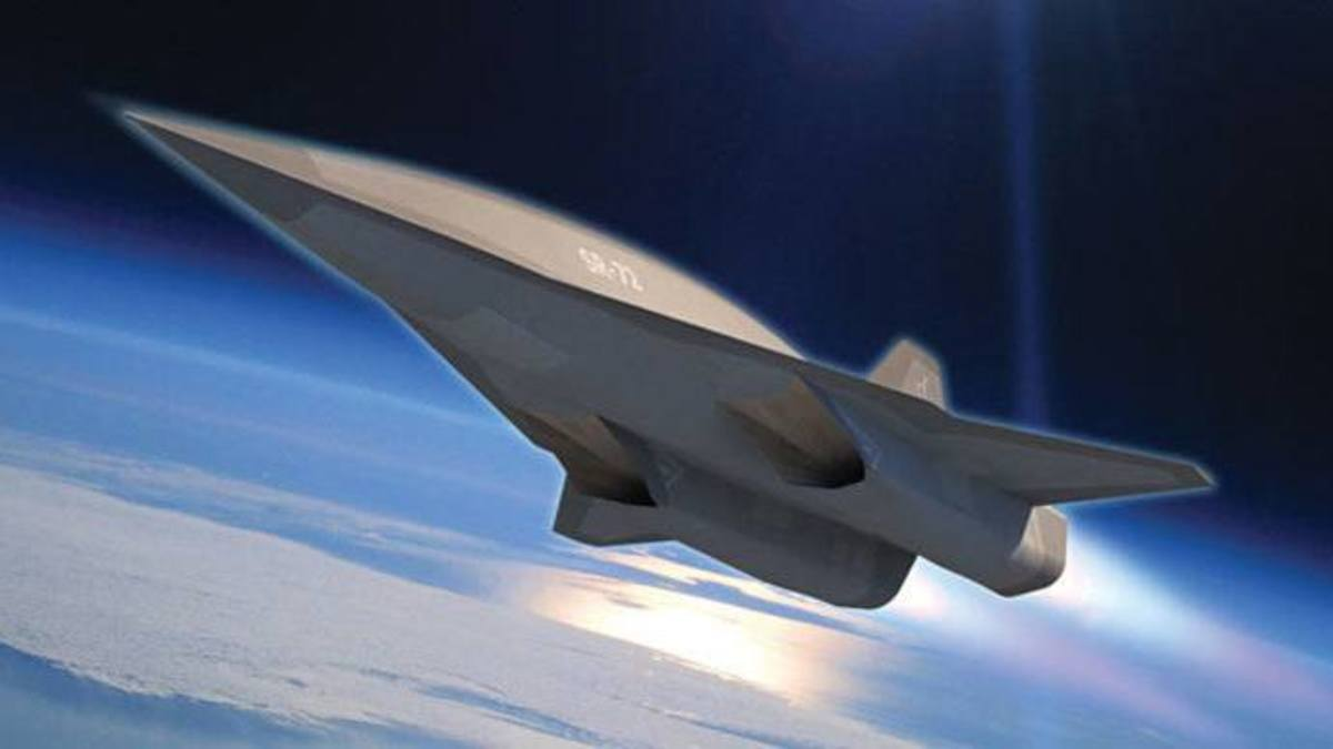 Lockheed Martin SR 72. Hypersonic aircraft that will go twice the speed of the SR-71.