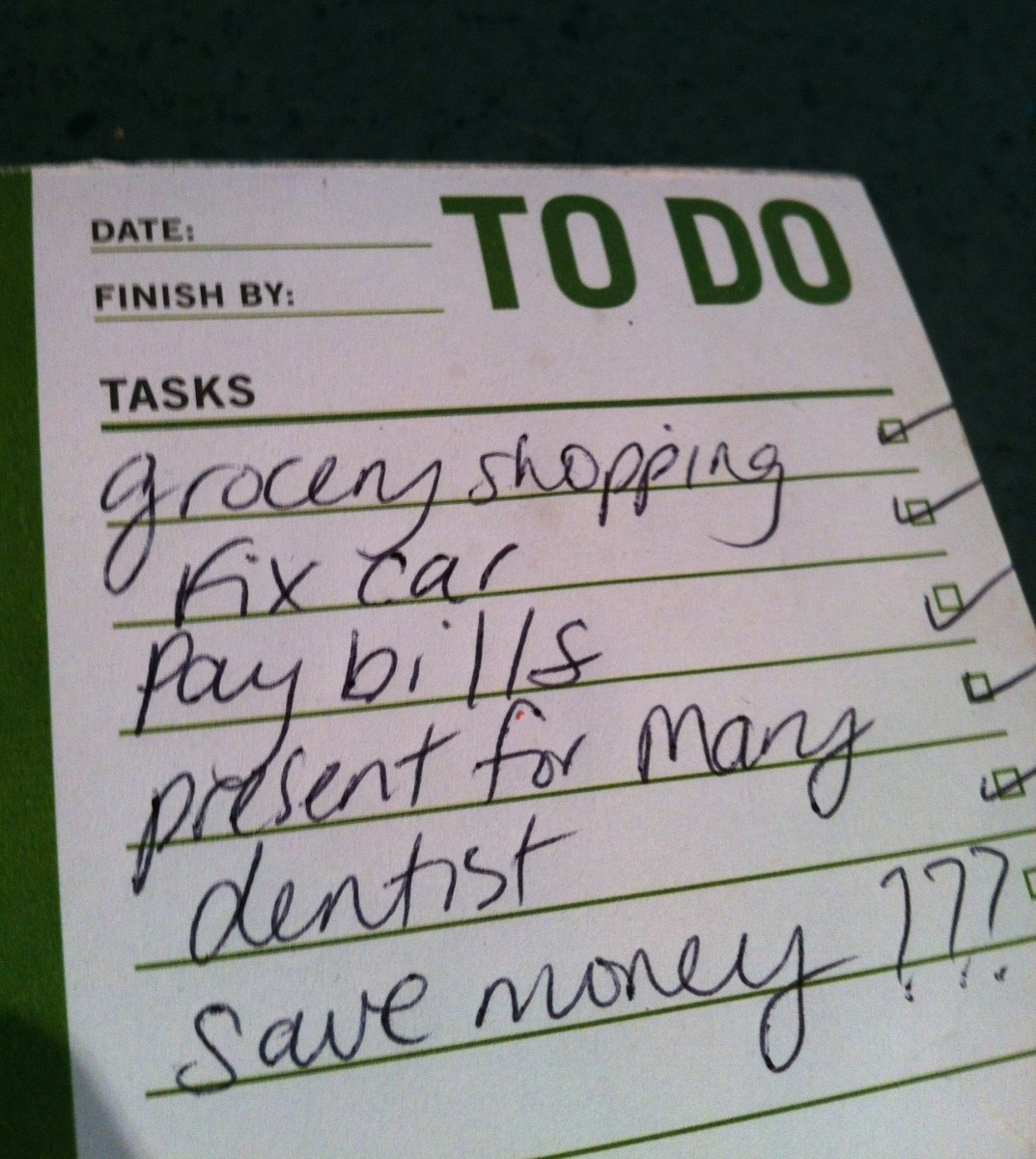 If you're trying to save money, you need to plan for savings in your family budget.