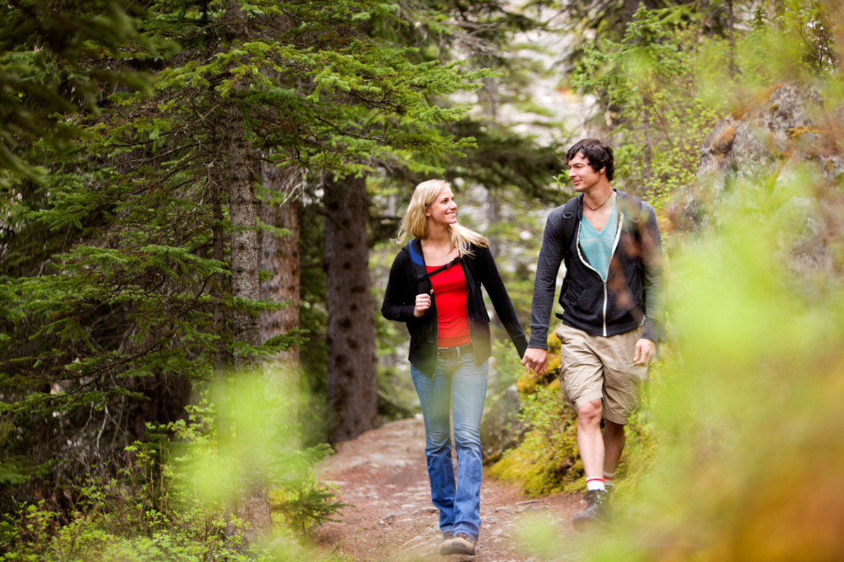 Skip the gym membership and get your exercise for free by hiking.
