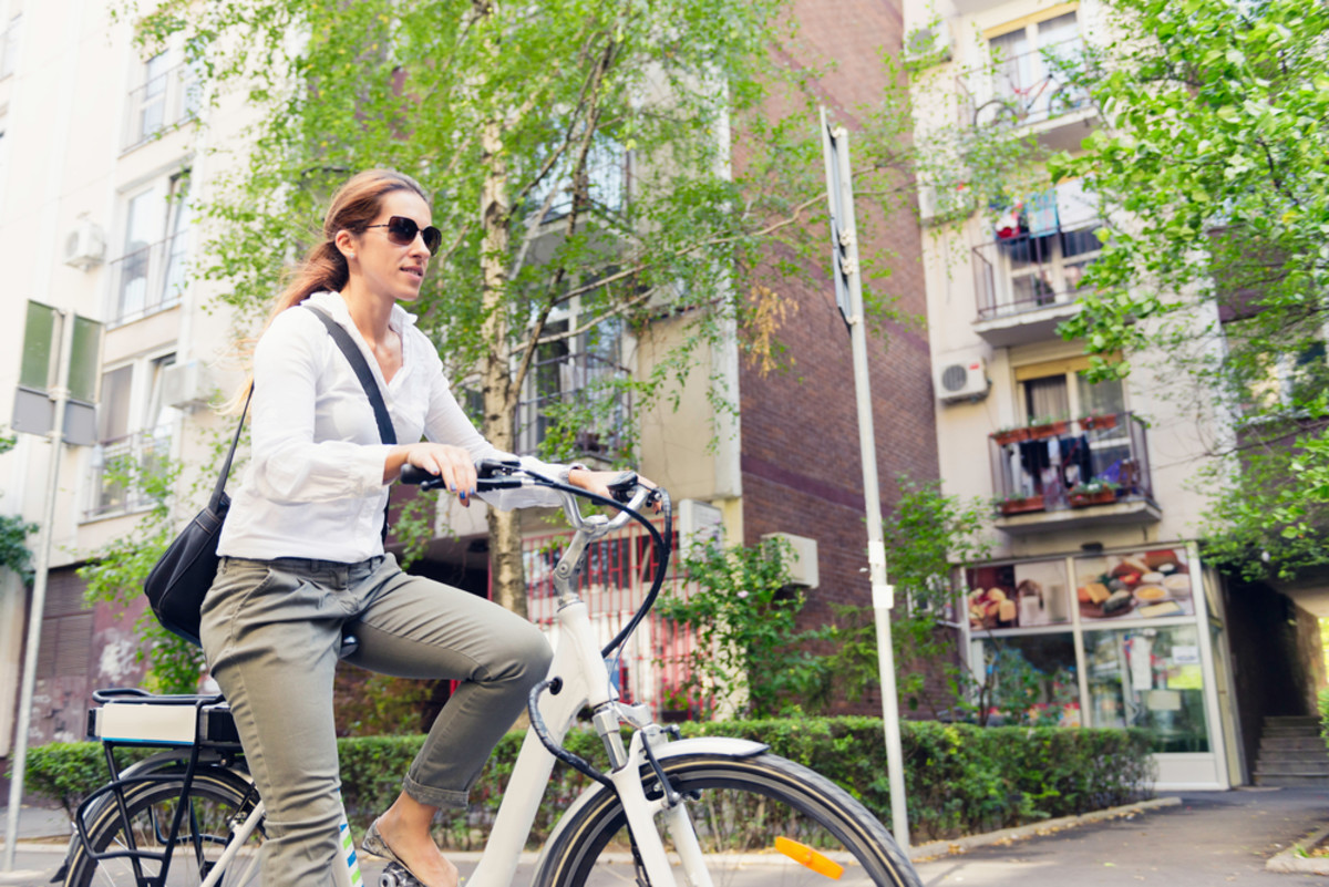 Taking your bike to run errands instead of a car can save you lots of money on gas.